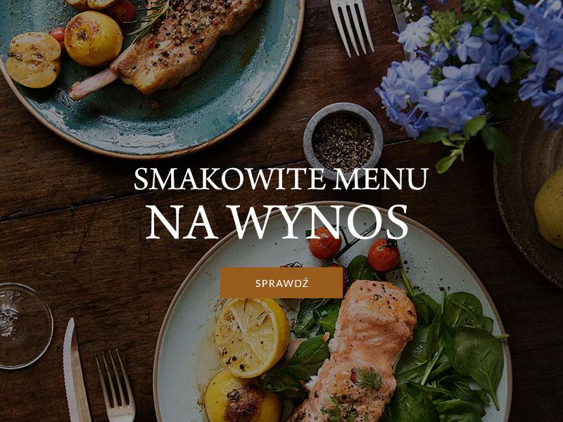 Pałac Jaśminowy - menu na wynos